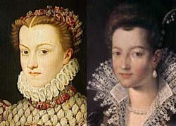 Catherine and Marie de Medici