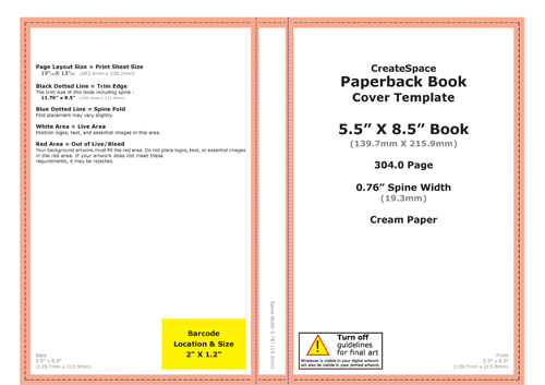 Book Cover Template Createspace : Key steps to self publishing